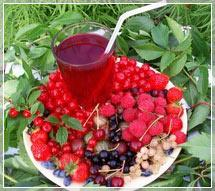 Ягоды, фрукты и овощи