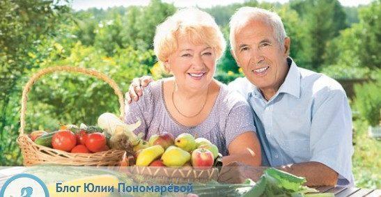 Питание пожилых людей – как питаться, чтобы продлить жизнь?