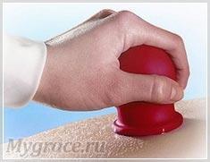 фото целлюлита с массаж от банками