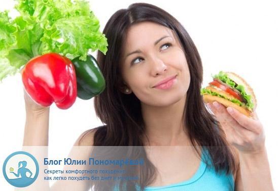 можно ли похудеть с помощью правильного питания