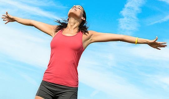 Фитнес: сияние здоровья и благополучия