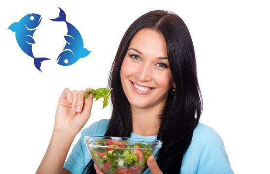 Знак зодиака Рыбы: питание и диеты