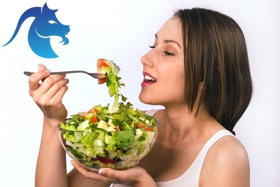 Козерог питание