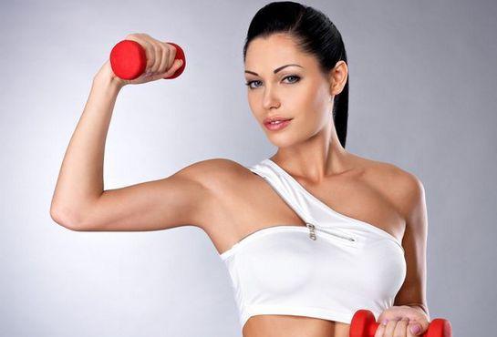 эффективные упражнения для похудения рук