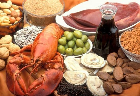В каких продуктах содержится цинк и почему он нам необходим