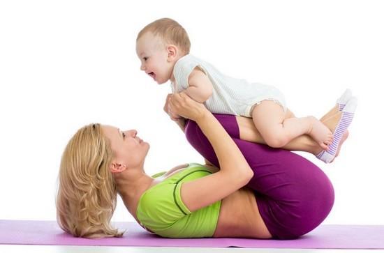 Через сколько после родов можно заняться спортом, чтобы восстановить фигуру?