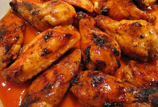 курица в горчично медовом соусе в духовке