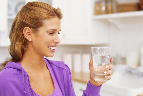 Тёплая вода, чтобы похудеть