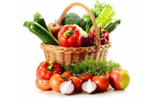 Летние овощи и фрукты