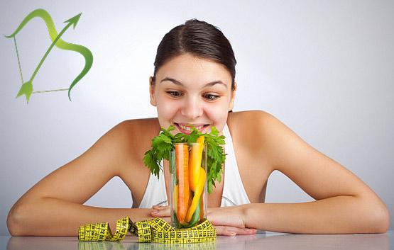 Знак зодиака Стрелец: питание и диеты