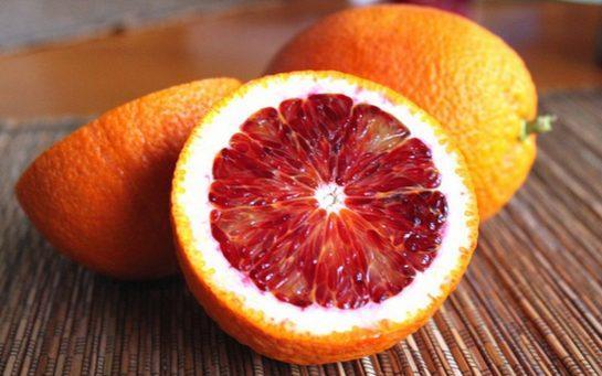 красный апельсин