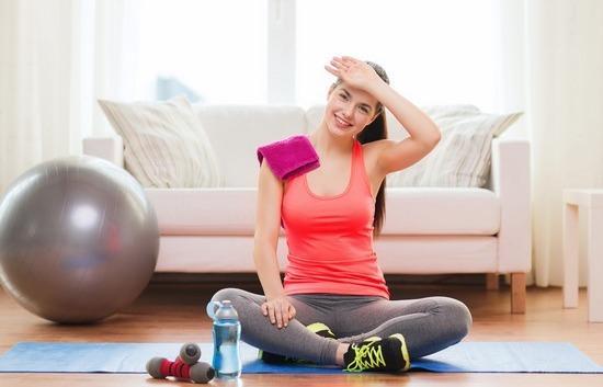 Физические нагрузки для похудения дома