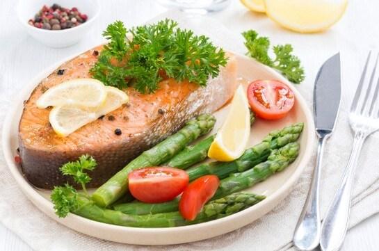 рыба и лимон