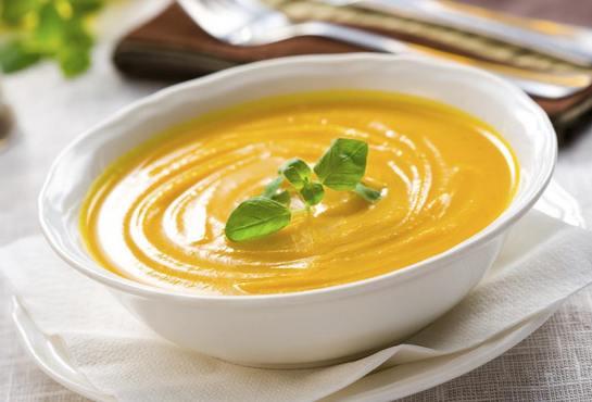 суп пюре из запеченной тыквы