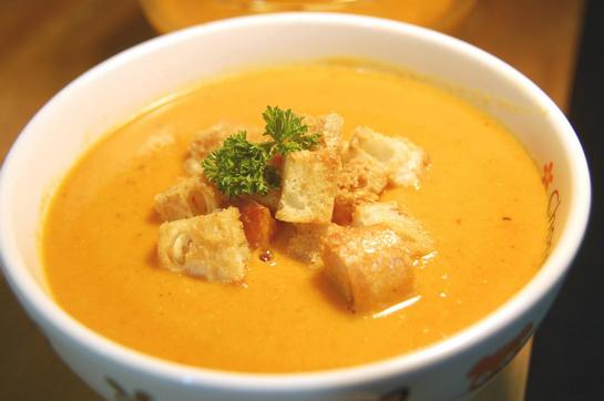 суп пюре из тыквы рецепты приготовления