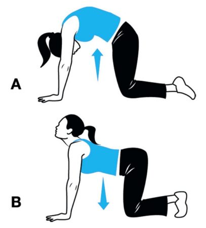 8 отличных упражнений для красивой осанки!