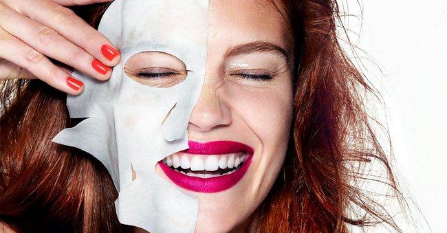 Тканевые маски – скорая помощь красоте!