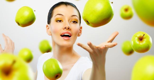 Долгосрочное похудение с помощью яблок + яблочная диета!
