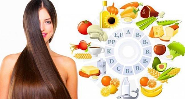 10 витаминов и минералов, которые необходимо употреблять для быстрого роста волос!