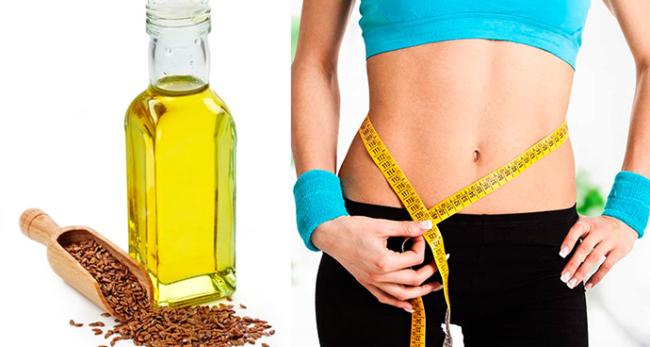 Сокрушающий эффект льняного масла для похудения