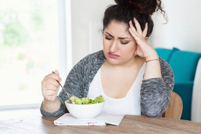 5 пищевых привычек, из-за которых вы не худеете