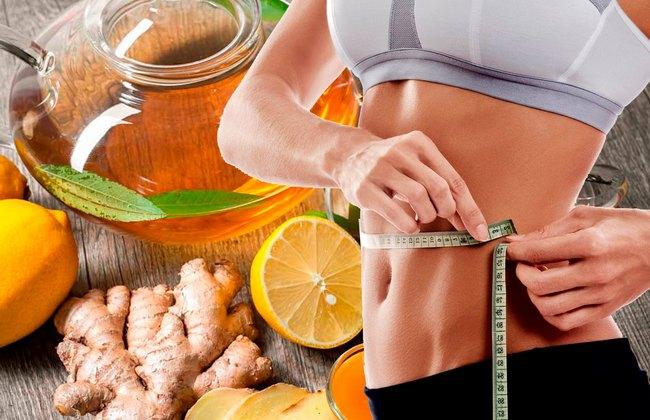 Имбирь и лимон — убойное сочетание для похудения!